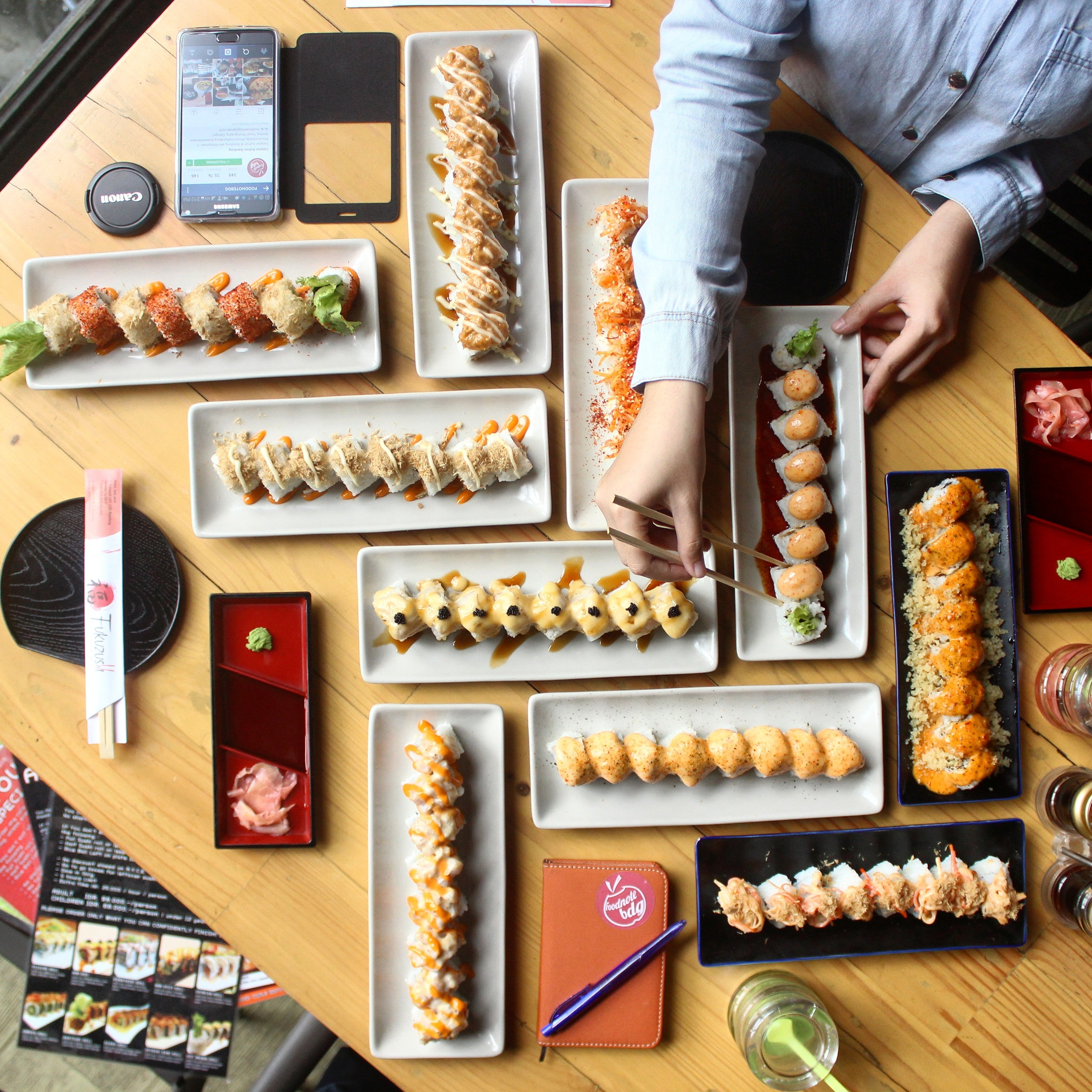 Foodnote Stories Kalap All You Can Eat Di Fukuzushi For