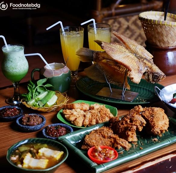 Berburu Masakan Sunda Di Raja Sunda Pasteur Bandung Foodnote