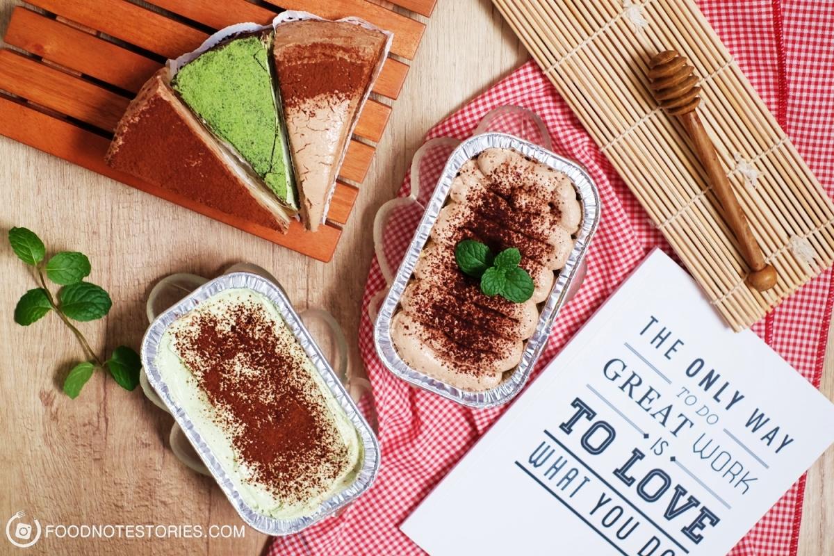 Alodia Homemade : Online Mille Crepes dan Milkbath Cake Super Enak di Bandung